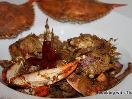 Recipe of Spicy Crab Roast