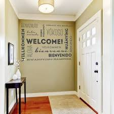 Welcome In Many Languages Wall Decal Wall Quotes Decals Quote Decals Word Wall
