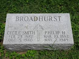 Cecile Smith Broadhurst (Unknown-1940) - Find A Grave Memorial