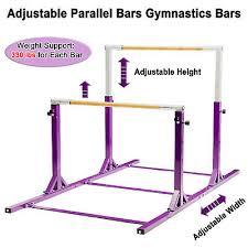 adjule parallel bars gymnastics bar