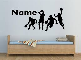 Personalized Name Sports Play Basketball Wall Sticker For Living Room Boys Room Home Decoration Large Wall Decals For Kids Large Wall Sticker From Onlybrand 14 56 Dhgate Com