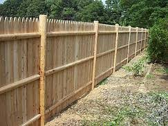 Round Cedar Posts Spaulding Fence Supply