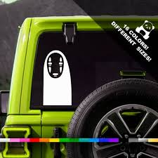 50 Off No Face Car Vinyl Decal Spirited Away Window Or Etsy