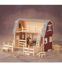 country barn deluxe dollhouse kit lee
