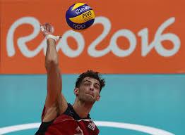Aaron Russell - Aaron Russell Photos - Volleyball - Olympics: Day 4 - Zimbio