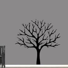 Shop Winter Tree Wall Decal On Sale Overstock 20685007