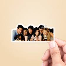 Friends Tv Show Vinyl Sticker Rachel Green Best Friend Gift Etsy