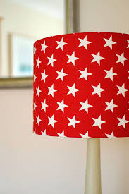 The Attractive Color Of The Red Lamp Shade In 2020 Star Lampshade Red Lamp Shade Red Lamp