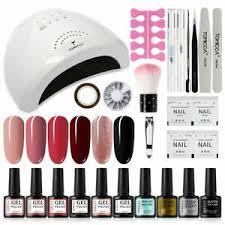 tomicca gel nail polish kit with 48w uv