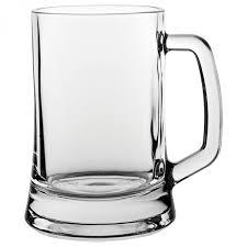 beer mug glass 16 75oz 50cl