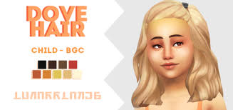 lunarrlakes dove hair sweet sims 4 finds