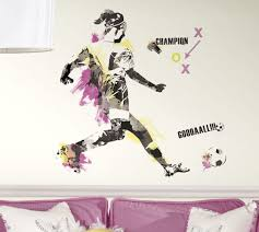 Creating A Sports Themed Bedroom Wall Sticker Outlet Design Blog