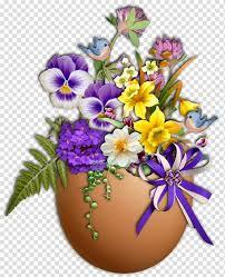 flower easter egg le monde des fleurs