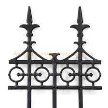 China Modern Design Cast Iron Antique Fence For Garden Factory Yard Residential House China Fencing Cast Iron Fence