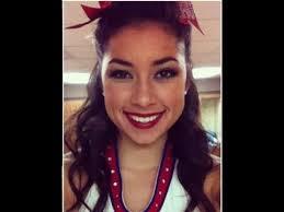 college cheerleader makeup hair