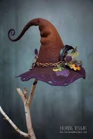 Pin by Myrna Clark on funny hats (With images) | Felt witch hat ...