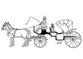 Kleurplaat Paarden Met Koets Gratis Kleurplaten Om Te Printen