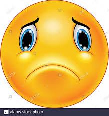 sad smiley emoticon stock vector art