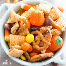 harvest chex mix video the country