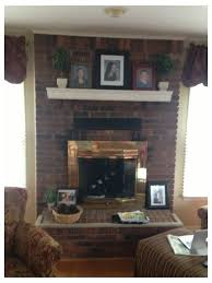 thoughts on updating my old brick fireplace