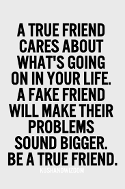image result for a true friend cares about what s going on in your