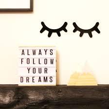 2x Black Cute Sleepy Eyes Lashes Vinyl Decal Stickers For Childs Room Wall Home Garden Children S Bedroom Girl Decor Decals Stickers Vinyl Art