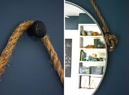 diy rope mirror