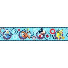 wall border mickey mouse clubhouse wall
