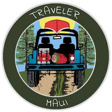 Maui Hawaii Traveler 3 5 Vinyl Die Cut Auto Window Decal Athena Brands