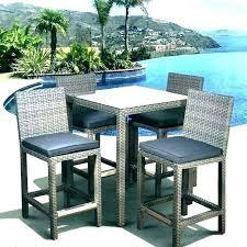 magnificent bistro dining set outdoor