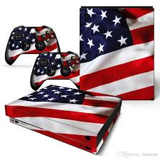 2020 Fanstore Skin Sticker American Flag Vinyl Decal Protector For Xbox One X Console And 2 Remote Controller New Design From Fanstore 11 63 Dhgate Com