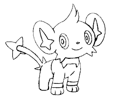 Kleurplaten Pokemon Shinx Kleurplaten Pokemon