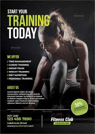 63 fitness flyer exles psd ai