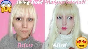 ゚ living doll makeup tutorial ゚