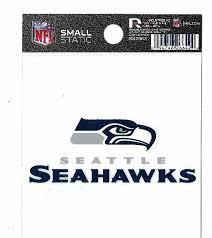 Seattle Seahawks Nfl Small Static Cling Window Decal By Rico Industries 266424 For Sale Online Ebay