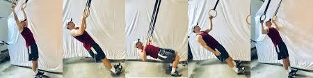14 best gymnastic ring back exercises