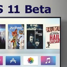 apple provides fourth beta of tvos 11