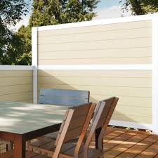 Artisan 6x6 Mixed Material Fence Kit Vinyl Aluminum Fence Freedom Outdoor Living For Lowes