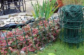 Garden Border Fence Lawn Edging Green Pvc Coated Wire Edge Fencing 10m Easigear For Sale