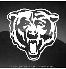 Chicago Bears Logo Chicago Bears Window Decal Chicago Bears Bumper Sticker 5x5in Permanent Decal In 2020 Chicago Bears Logo Custom Window Decals Chicago Bears