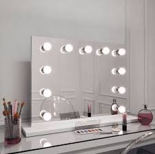hollywood style mirror with lights