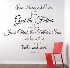2 John 1 3 Scripture Bible Verse Wall Decal Nuovocreations