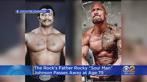 WWE Hall of Famer Rocky Johnson, Father Of Dwayne 'The Rock ...