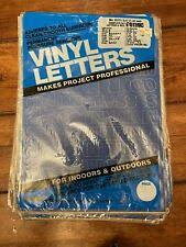 Duro Permanent Adhesive Vinyl Letters Numbers 3 4 423249 For Sale Online Ebay