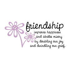 friendship improves happiness wall quotes decal com