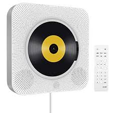 portable cd player with bluetooth wall