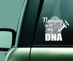 Rn Nurse Window Decal White Or Choose Your Vinyl Color 5 5 Tall