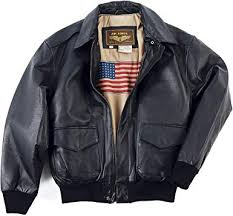 leather flight er jacket
