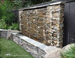 outdoor wall fountains water walls