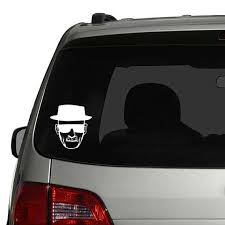 Breaking Bad Heisenberg Walter White Car Vinyl Decal By Tipsyglows Car Decals Stickers Christian Car Decals Car Monogram Decal